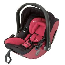 Kiddy Evolution Pro 2 Infant Carrier Lie Flat Car Seat - Cranberry