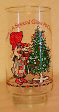 "Vintage Coca-Cola HOLLY HOBBIE ""There's a Special Glow at Christmas"" Glass"