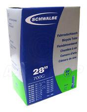 """Schwalbe AV17 Schrader Tube - 28"""" 700c - Inner Tube (28-622 to 40-635)"""