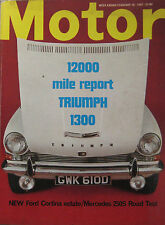 Motor magazine 18/2/1967 featuring Mercedes road test, Triumph, MGB