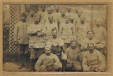 Cpa Carte Photo 37e régiment d'infanterie de Nancy Troyes m0315