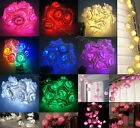 20LED Rose Flower Fairy Wedding Garden Party Christmas Decoration String Lights