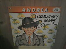 "ANDREA like humphrey bogart 12"" MINI LP"