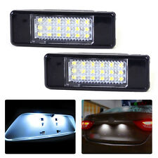 2pcs License Plate Light Lamp 18 LED fit Peugeot 207 308 406 407 Citroen C2 C3