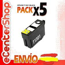 5 Cartuchos de Tinta Negra T1301 NON-OEM Epson Stylus SX535WD
