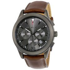 Michael Kors Gareth Grey Dial Chronograph Gunmetal-Tone Mens Watch MK8471