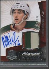 MAXIM NOREAU 2010-11 THE CUP #131 ROOKIE AUTO /249