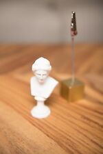 Miniature Bust of Venus Desk Accessory Greek sculpture reproduction white