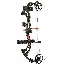 2016 PSE Brute Force RTS Bow Package 70# RH Skull Camo Arrows Release and Tuned