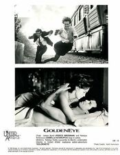 GOLDENEYE - 1995 - 2 Original 8x10 GLOSSY STILLS - PIERCE BROSNAN is JAMES BOND