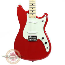 Fender Duo Sonic with Maple Fingerboard in Torino Red Demo Model