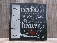 LAST ONE! When A Cardinal Appears In Your Yard It's A Visitor From Heaven Sign