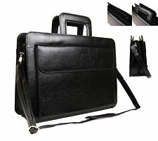 High Quality Faux Leather Business Briefcase Work Office Documents Satchel Bag