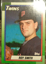 Roy Smith 1990 Topps Twins Card # 672