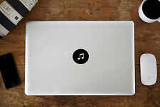 "Logo Musical Note Vinyl Decal Sticker for Apple MacBook Air/Pro 12"" 13"" 15"""
