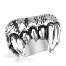 Vampire Fangs Gentlemens Ring in Stainless steel