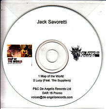 JACK SAVORETTI Map Of The World 2009 UK 2-track promo CD