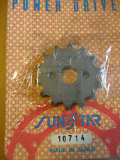 Sunstar Powerdrive Countershaft Sprocket - 420-14T 10714 FREESHIP US AND CANADA