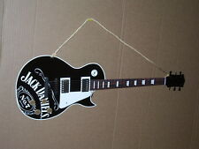 JACK DANIELS - Old No. 7 - GUITAR SHAPED SIGN - Lynchburg Tennessee - SUPER SIGN