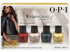 Opi Mini Nail Lacquer Set ~ WASHINGTON DC LIMITED EDITION 4x3.75ML  ~