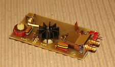 RF power amplifier HF driver module assembly