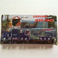 PENNSYLVANIA TRUCK  EXPLORE PA BIG RIG TOY TRACTOR TRAILER NEW IN BOX 70029