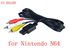HD AV Cable Cord for Nintendo 64 N64 Gamecube SFC SNES