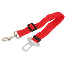 Red Dog Puppy Safety Belt Car Harness Adjustable Seatbelt Lead Vehicle 30-60cm