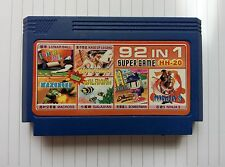 6 in 1 games ( BOMBERMAN , LEGEND KAGE , GALAXIAN etc) - Famicom Nes Cartridge