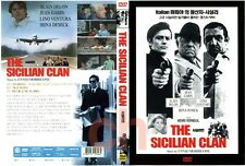 The Sicilian Clan (1969) - Jean Gabin, Alain Delon  DVD NEW