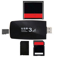 Popular USB 3.0 All in1 Flash Memory Card Reader Adapter for SD Micro TF CF nn