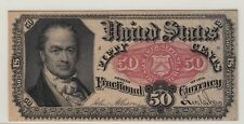 Fr. 1381 ~ 5th ISSUE ~ 50c FRACTIONAL CURRENCY ~ RED SEAL ~ PCGS ~ ABOUT NEW ~53