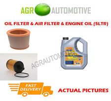 PETROL OIL AIR FILTER KIT + LL 5W30 OIL FOR CITROEN SAXO 1.6 101 BHP 2001-04