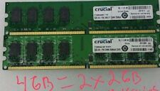 4GB   PC2-6400U  DDR2 Memory DESKTOP Ram For  DELL Optiplex 740 745 755 760 960