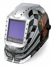 Lincoln Viking 3350 Motorhead Welding Helmet K3100-3 - FREE $25 BONUS ITEMS