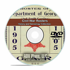 Civil War Rosters, 77 Vintage Books, Family History and Genealogy on DVD CD V82