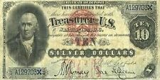 PHOTO MAGNET USA Reproduction 1878 10 Dollars Silver Certificate MAGNET