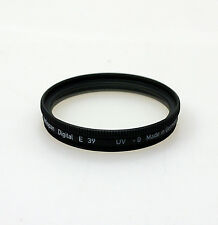 Heliopan 39mm UV Filter. Brand New Stock