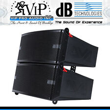 "DB Technologies DVA M2M+DVA M2S 2-Way Active Line Array Module 2x6.5""/2x1"", 800W"