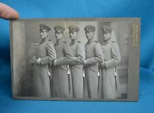 WW1 Era Cabinet Photo 5x German Deutsches Heer Soldiers 12th Bavarian Infantry