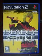 PS2 DEADLY STRIKE - EN FRANCES - PLAYSTATION 2