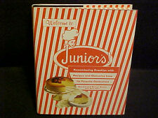 Welcome to Junior's! Cookbook Brooklyn NY Restaurant