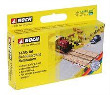 14305 Noch HO, Bahnübergang Holzbohlen, Laser-Cut minis, Modelleisenbahn, Hobby