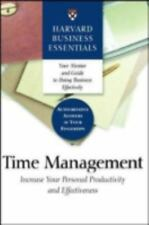 Time Management: Increase Your Personal Productivity And Effectiveness (Harvard
