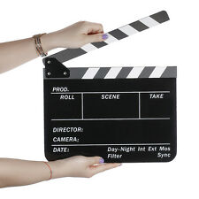 Neewer Acrylic Plastic 10x12in Dry Erase Director's Film Movie Clapboard