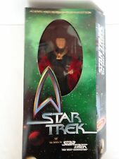 "STAR TREK THE NEXT GENERATION ALIENS AND ADVERSARIES EDITION ""Q"" 12"" FIGURE NEW"
