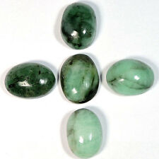 26.60Cts Untreated Wholesale Lot 100% Natural Emerald Cabochon Loose Gemstones