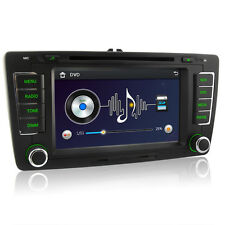 Skoda Octavia Stereo GPS DVD Sat Nav for Superb Fabia Bluetooth iPod Radio 3G