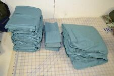 military medical hospital sheet set w/ hand towels sheets 108x72 sealed in foil