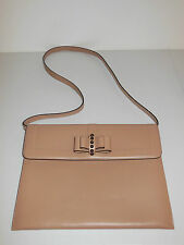 CHRISTIAN LOUBOUTIN BEIGE SWEET CHARITY SLIM SHOULDER BAG $995